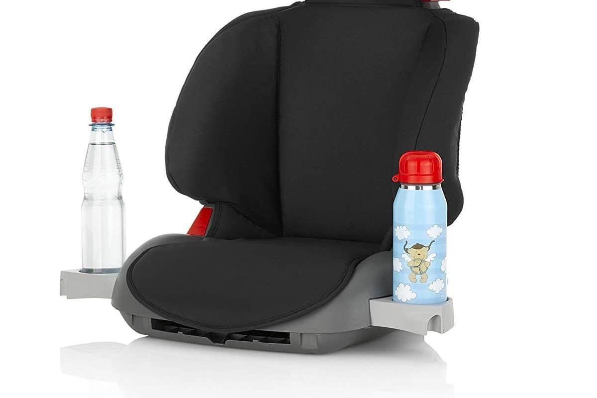 Soportes para bebidas en una silla de coche