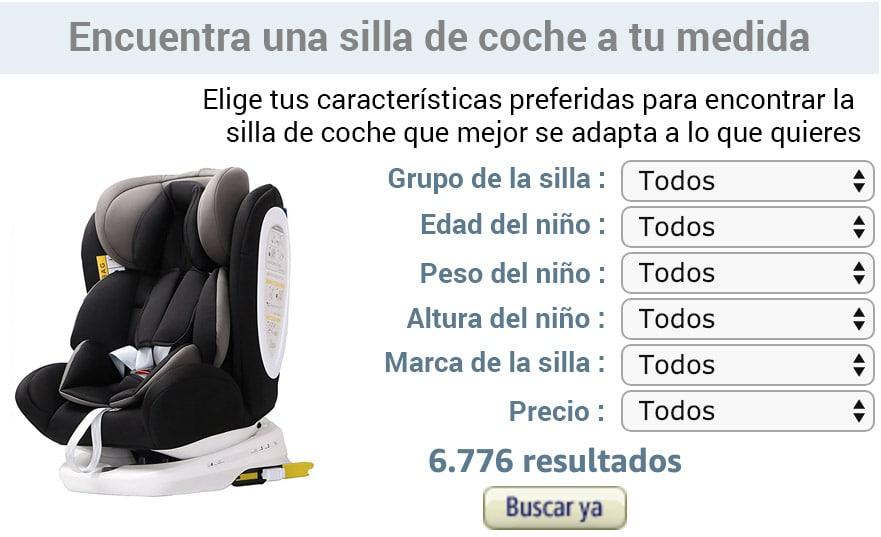 configurador de sillas de coche para bebé