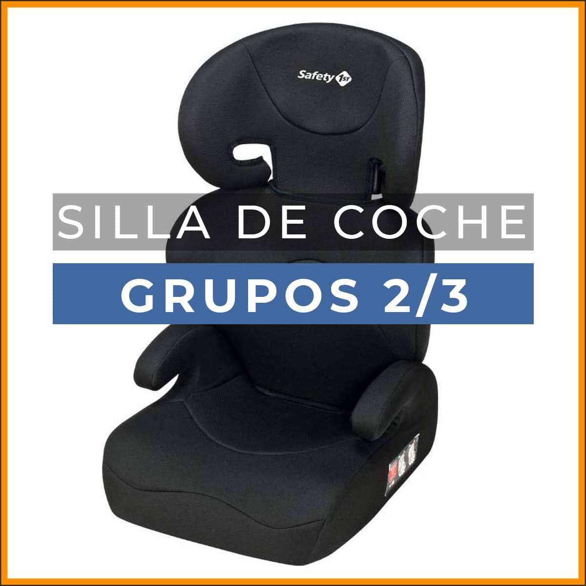 silla de coche grupo 2 3